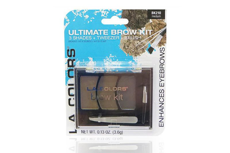 L.A. Colors Ultimate Brow Kit en diferentes unidades