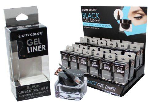 City Color Black Gel Eyeliner (E-0063)