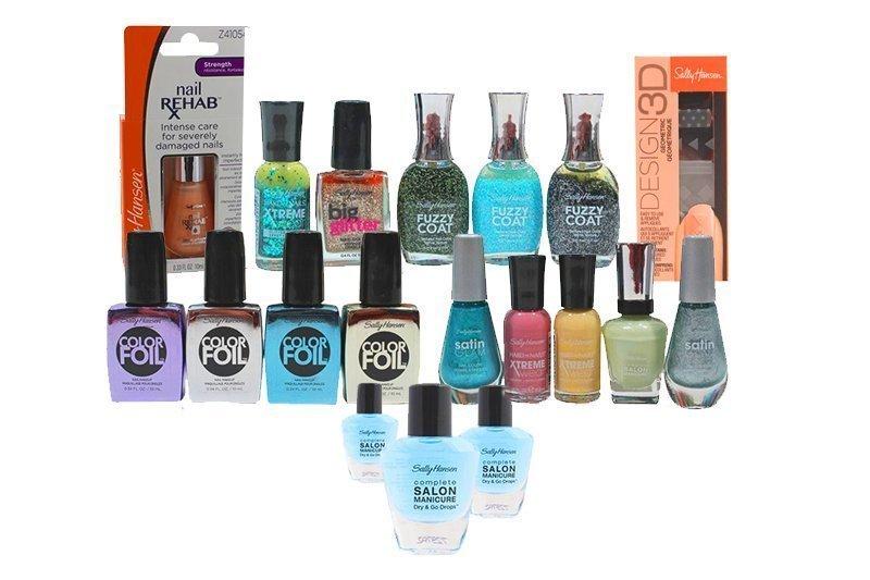 Sally Hansen Mixed Box of Nail Products 250 Units