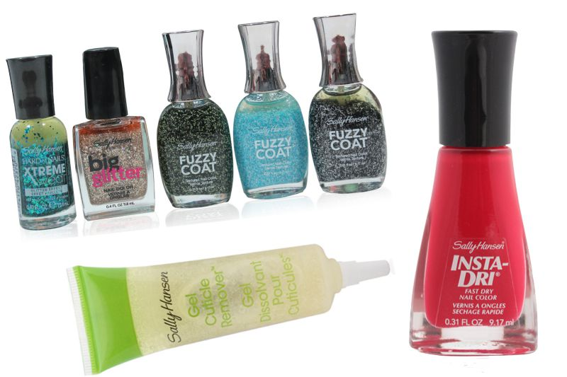 Sally Hansen Mixed Box of Nail Products