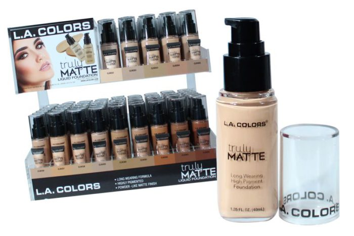 L.A. Colors Truly Matte Liquid Foundation (CAD93.1)