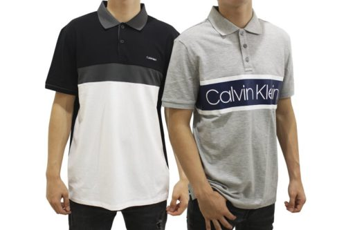 Calvin Klein Men's Polo Shirt Lot