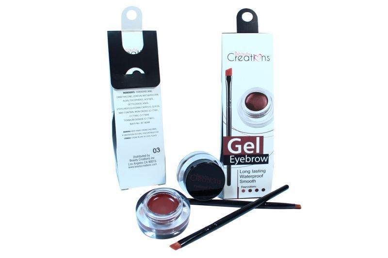 Beauty Creations Gel Eyebrow Long Lasting Waterproof (EGD01)