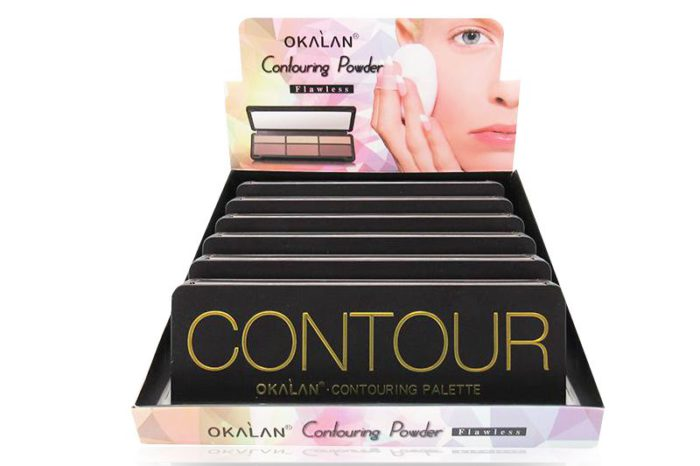 Okalan Contour Palette to give the illusion of delgades to your face, product per unit