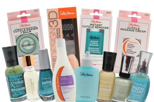 Sally Hansen Mini Box Nail Polish and Cuticle Treatments Diverse Products for your Face