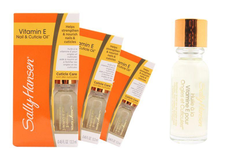 Nail moisturizing oil Sally Hansen Vitamin E Nail & Cuticle Oil