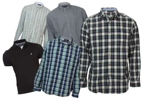 wholesale-nautica-mens-shirts-lot-