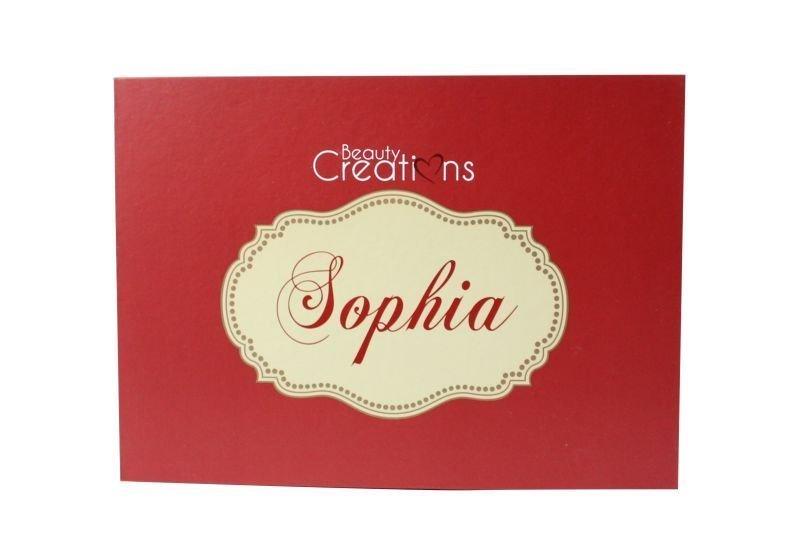 Beauty Creations Sophia Eyeshadow Palette (BCE9)