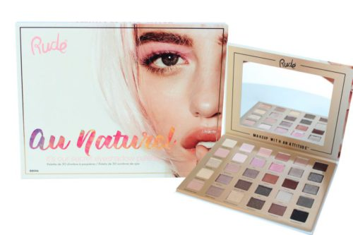 Rude Cosmetics Au Naturel Eyeshadow Palette (RC-88006)