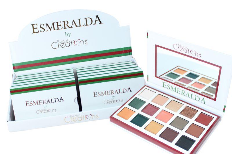 Beauty Creations Esmeralda Eyeshadow Palette (E15-C)