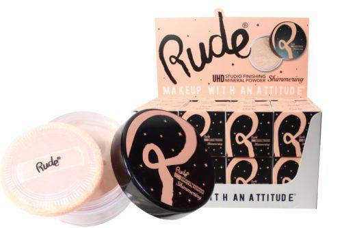 Rude Cosmetics HD Studio Finishing Mineral Powder Shimmering (RC-87861)