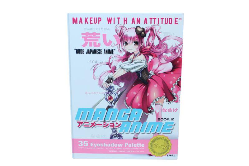Rude Cosmetics Manga Anime Eyeshadow Palette (RC-87972)