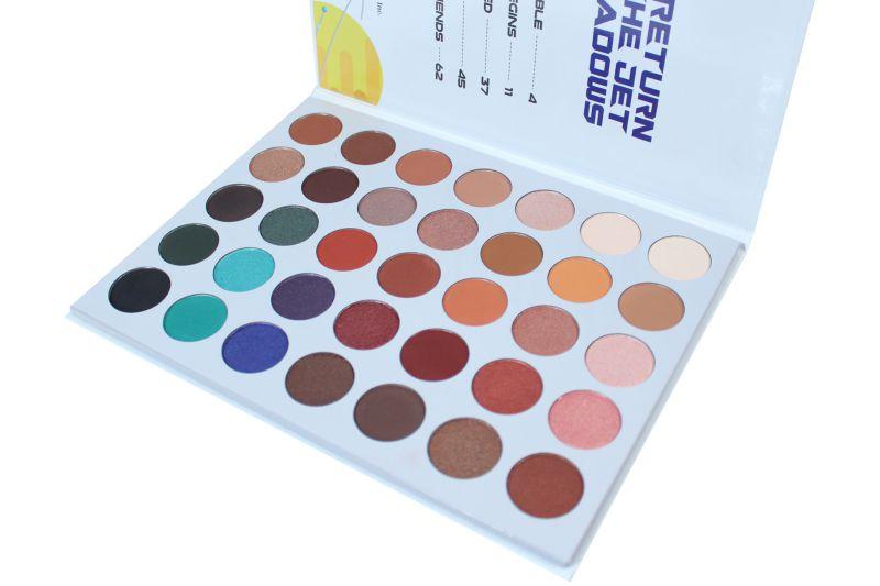 Rude Cosmetics Return Of The Jet Eyeshadow Palette (RC-87974)