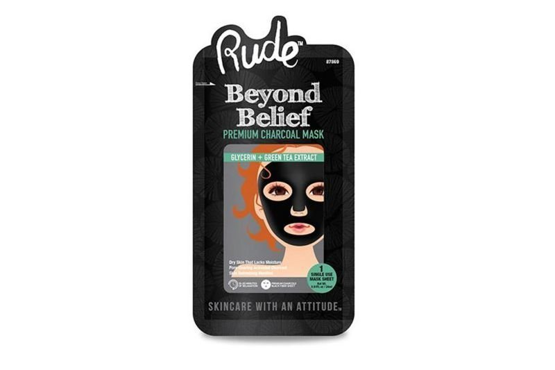 Rude Cosmetics X5 Beyond Charcoal Face Mask (RC-87868)
