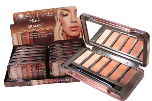 Okalan Heat Fire Mini Eyeshadow Palette (OKL-E068)