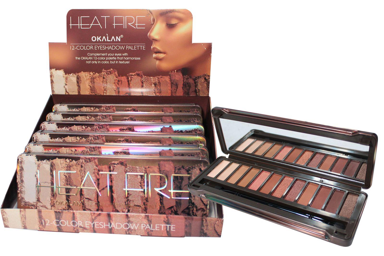 Okalan-Heat-Fire-12-Color-Eyeshadow-Palette-OKL-E0671