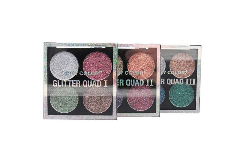 City Color Glitter Quad 3 Shades Pack (E-0088-1-3)