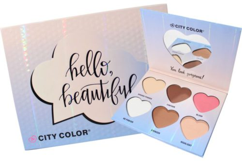 City Color Hello Beautiful All-in-One Face Palette (F-0101)
