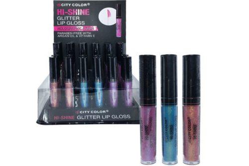 City Color Hi -Shine Glitter Lip Gloss (L-0055A)