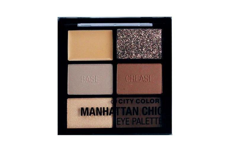 City Color Manhattan Chic Eye Palette (E-0087-3)