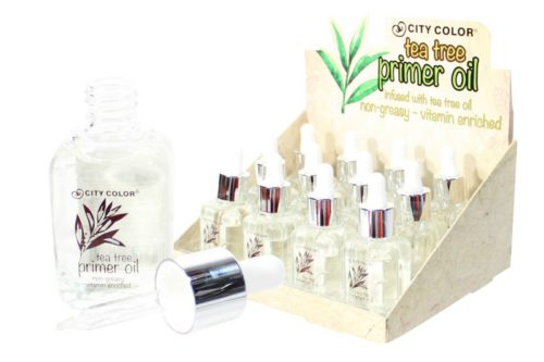 City Color Tea Tree Primer Oil (F-0067)