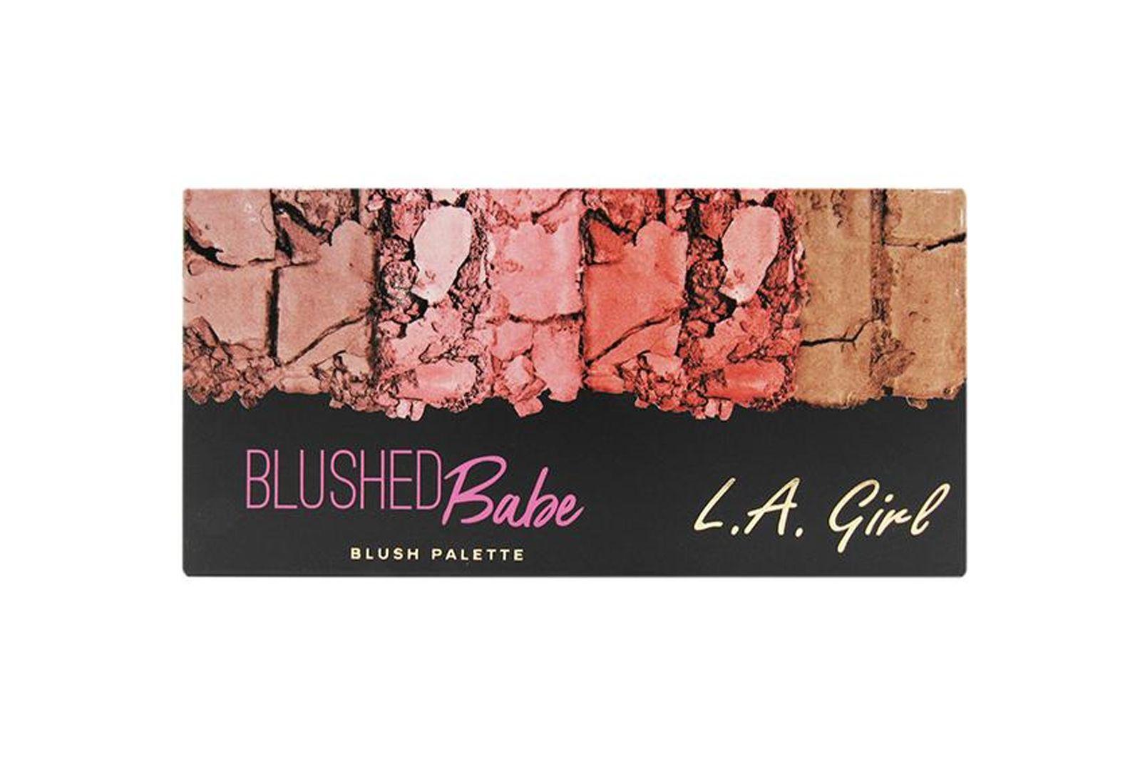 .A. Girl Fanatic Blush Palette - Blushed Babe (GBL422)