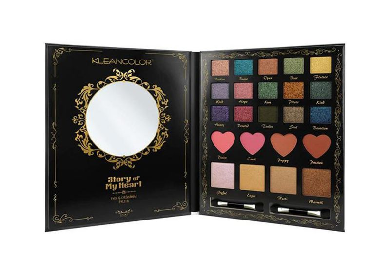 Kleancolor Story Of My Heart Face & Eyeshadow Palette (ES429)
