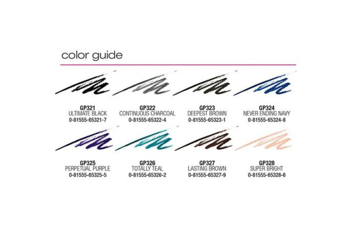 L.A. Girl Ultimate Auto Eyeliner Display (GCD261.1)