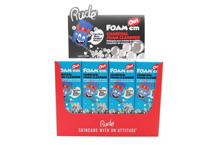 Rude Cosmetics Foam'em Charcoal Foam Cleanser (RC-87999)