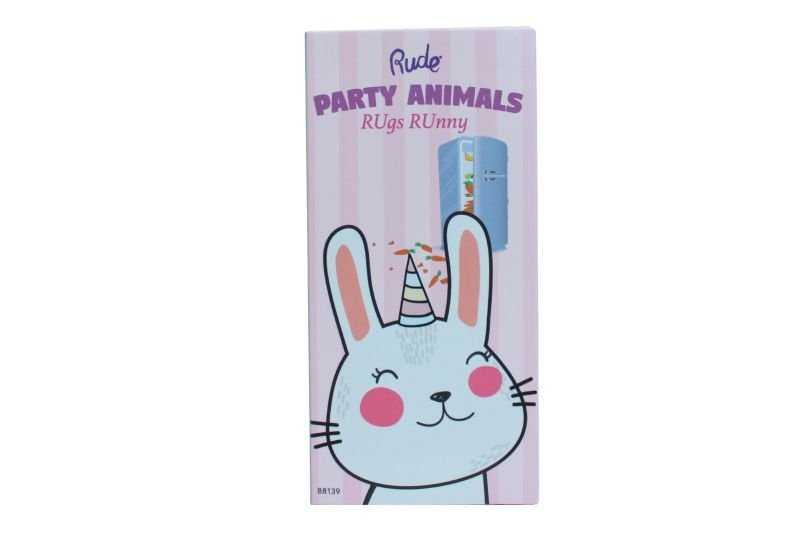Rude Cosmetics Party Animals 10 Eyeshadow Palette - Rugs Runny (RC-88139)
