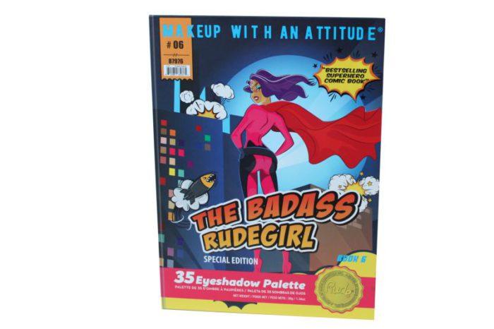 Rude Cosmetics The Badass Rudegirl 35 Eyeshadow Palette (RC-87976)