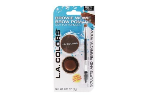 L.A. Colors Brow Pomade - Soft Brown (CBBP781)