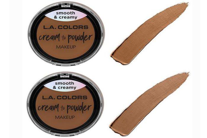 L.A. Colors Cream to Powder Makeup 8 Shades Assorted (CCP325-32)