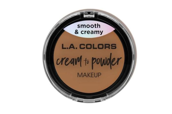L.A. Colors Cream to Powder Makeup - Soft Honey (CCP327)