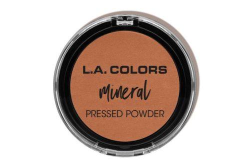 L.A. Colors Mineral Pressed Powder - Nutmeg (CMP381)