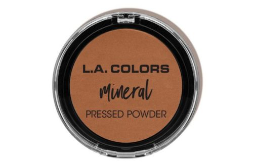 L.A. Colors Mineral Pressed Powder - Toasted Almond (CMP380)