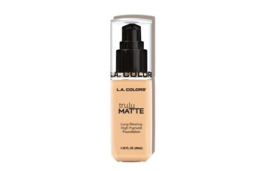 L.A. Colors Truly Matte Foundation – Porcelain (CLM351)