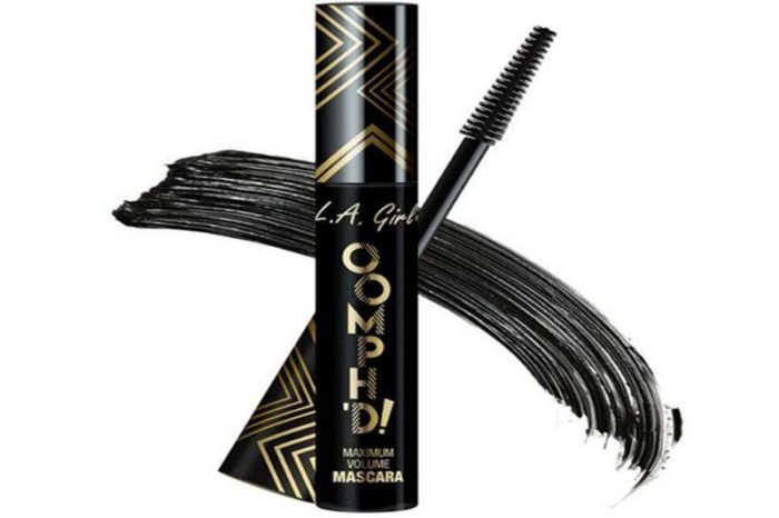 L.A. Girl Oomph'd Mascara - Super Black (GMS648)