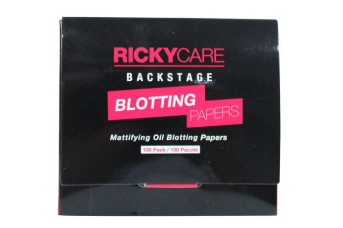 RickyCare Backstage Blotting Papers