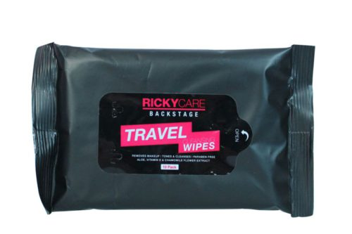 RickyCare Backstage Travel Cleansing Wipes
