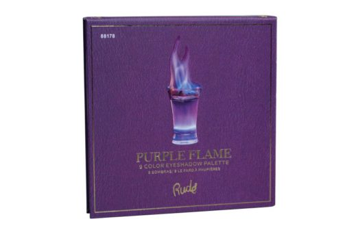 Rude Cosmetics 9 Color Eyeshadow Palette - Purple Flame (RC-88178)