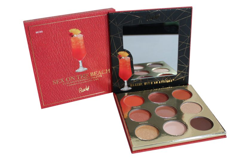 Rude Cosmetics 9 Color Eyeshadow Palette - Sex On The Beach (RC-88180)