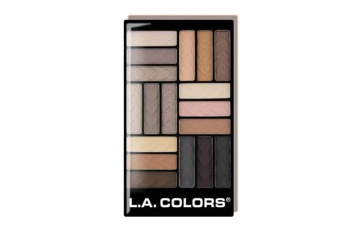 L.A. Colors Glam Palette 18 Color Eyeshadow - Downtown Brow (CES750)