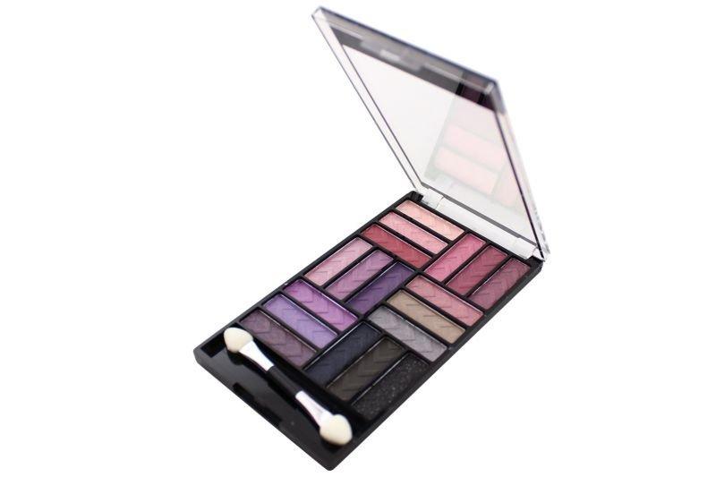 L.A. Colors Glam Palette 18 Color Eyeshadow - Strange Love (CES749)