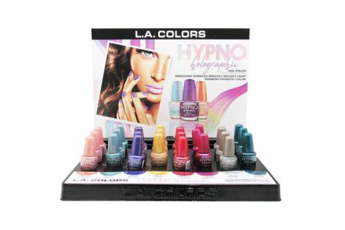 L.A. Colors Hypno Holographic Polish Display (CLAC438)