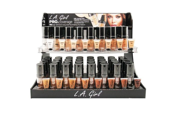 L.A. Girl Pro Coverage Foundation Display (GCD253.1)