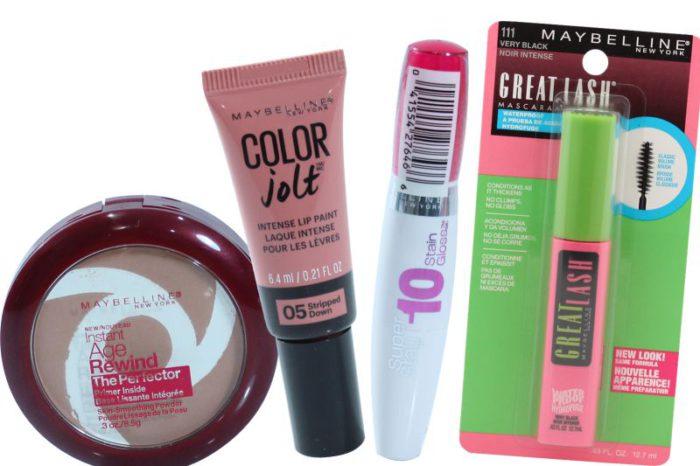 Maybelline Cosmetics lot – 250, 500 Units