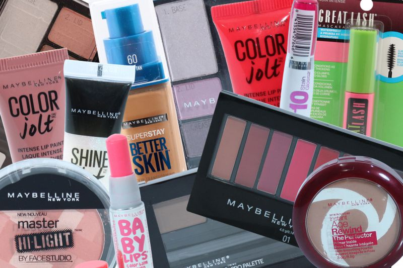 Maybelline Cosmetics lot – 250, 500 Units