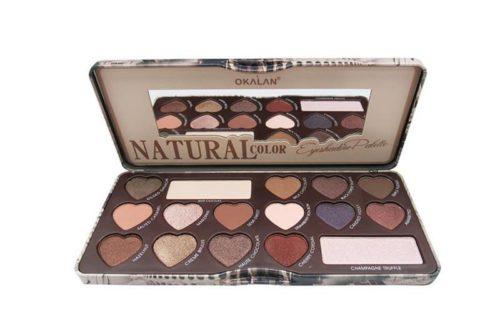 Okalan Natural Eyeshadow Palette Color (OKL-E018B)