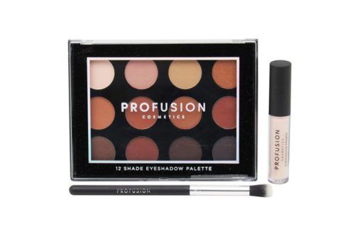 Profusion Natural - 12 Shade Eyeshadow Palette With Blush (7253A)
